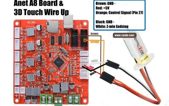 Anet A8 3D Printer BLTouch Ayarları ve Gerekli Dosyalar