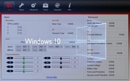 Windows 10 Naza M Lite Software Kullanımı ve Ayarları - Türkçe Anlatım