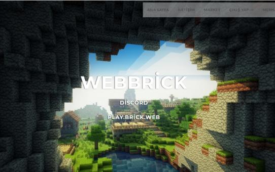WebBrick v1.1 Minecraft Web Scripti Full İndir