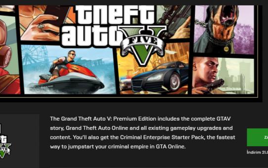 GTA 5 Nedeniyle Epic Games Kota Getirdi