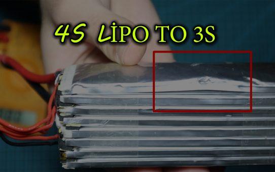4s LiPo 3s LiPoya Nasıl Çevrilir?